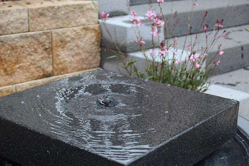 Wasserspiele Stein