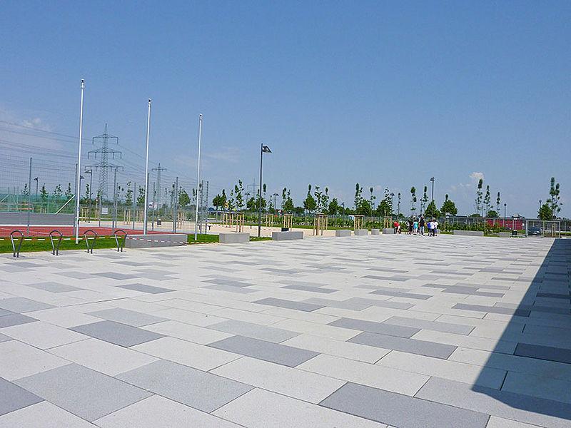 Pflastersteine für den öffentlichen Raum