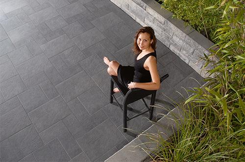 nanobeschichtete Terrassenplatten